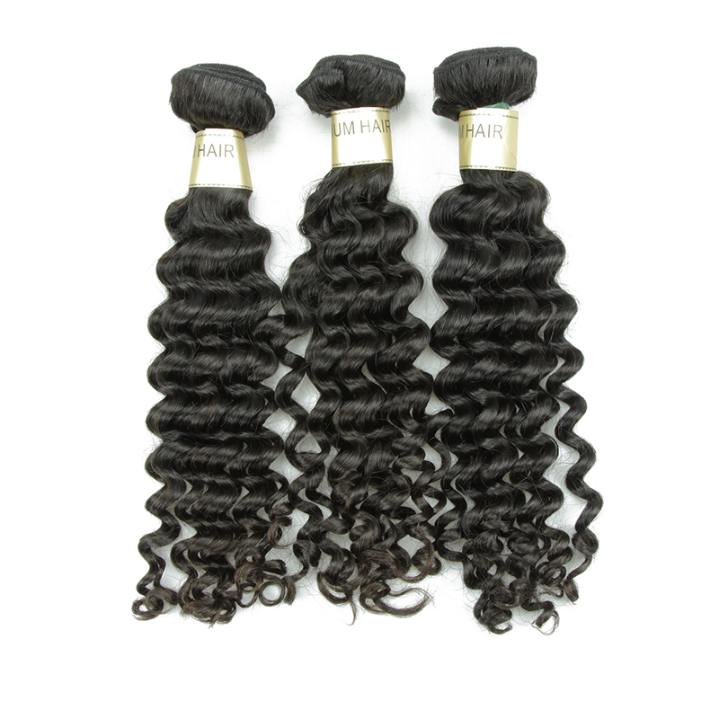 XBL sale price deep wave sew in weave 100% human virgin Peruvian hair in China