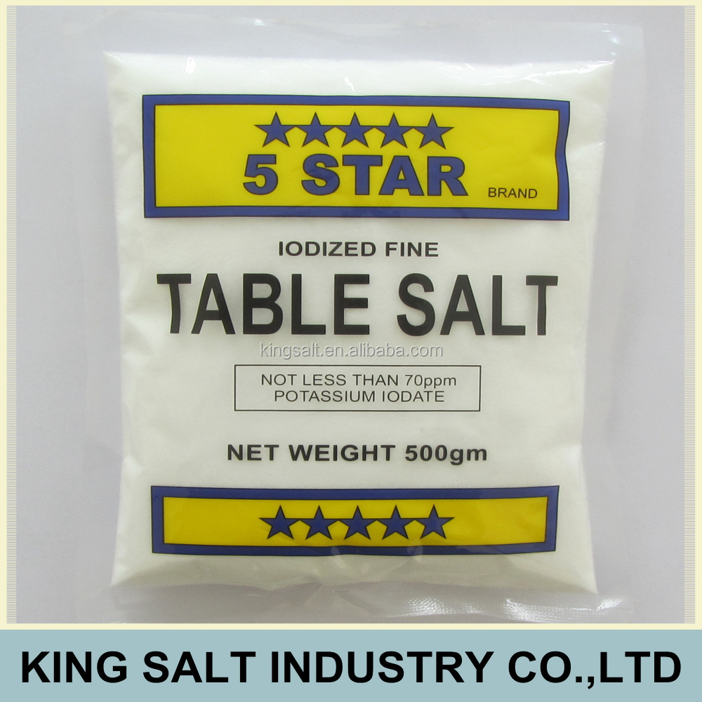 Five Star Iodised Table Salt