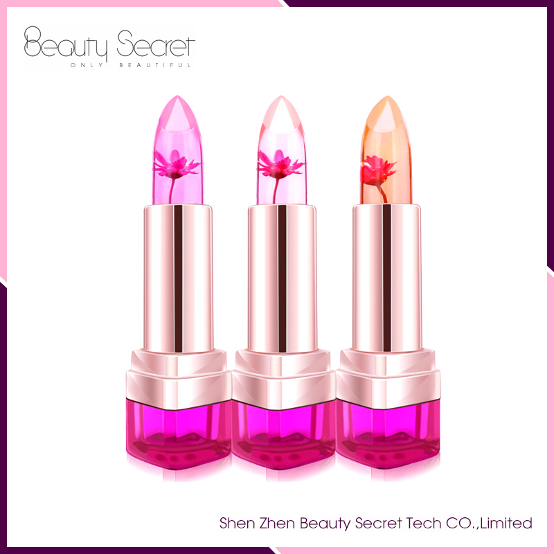 2016 High Quality Fashionable Jelly Lipstick Temperature Change Lipstick