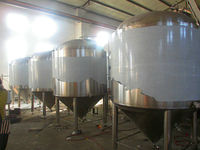 3BBL-30BBL high quality stainless steel tanks stainless steel fermentation tanks used stainless steel tanks