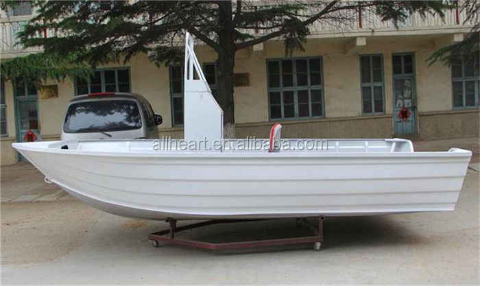 China Builder 17ft Pursuer Aluminum V Hull Yacht Fishing Boat