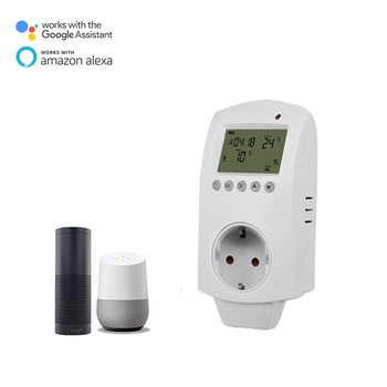 HYSEN WIFI IR Carbon Fiber Heating Panel Thermostat Plug In work with Alexa Speaker Google Assistant