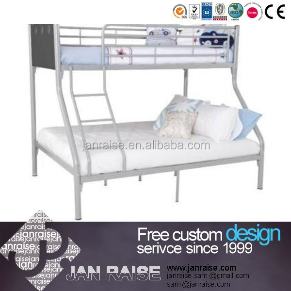 Children standard double decker metal bed OK-1168