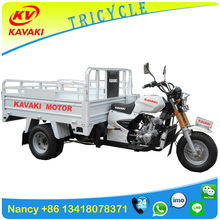 Guangzhou KAVAKI Factory five wheeler motorcycle / truck cargo tricycle