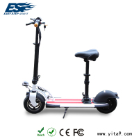 Two wheel electric scooter for leisure