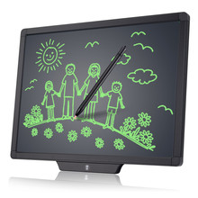 Best gift 20 inch electronic message slate board newyes digital notice drawing pad