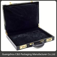 Luxury Hot Design Customized Black Rigid Gift Box With Lid