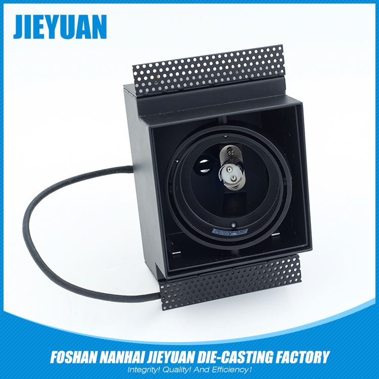 Aluminum die casting induction flood light housing lamp cover