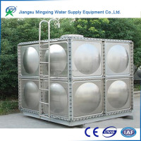 No corrosion farm water tank, Thermal insulation combined GRP water storage tank