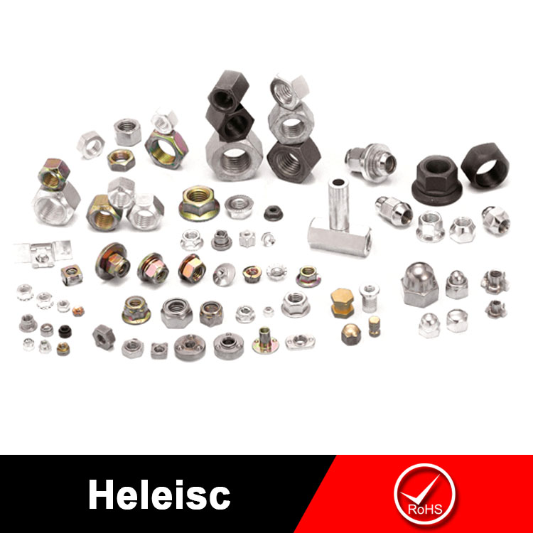 China manufacturer high quality ISO DIN hexagon nylock nut,eye nut