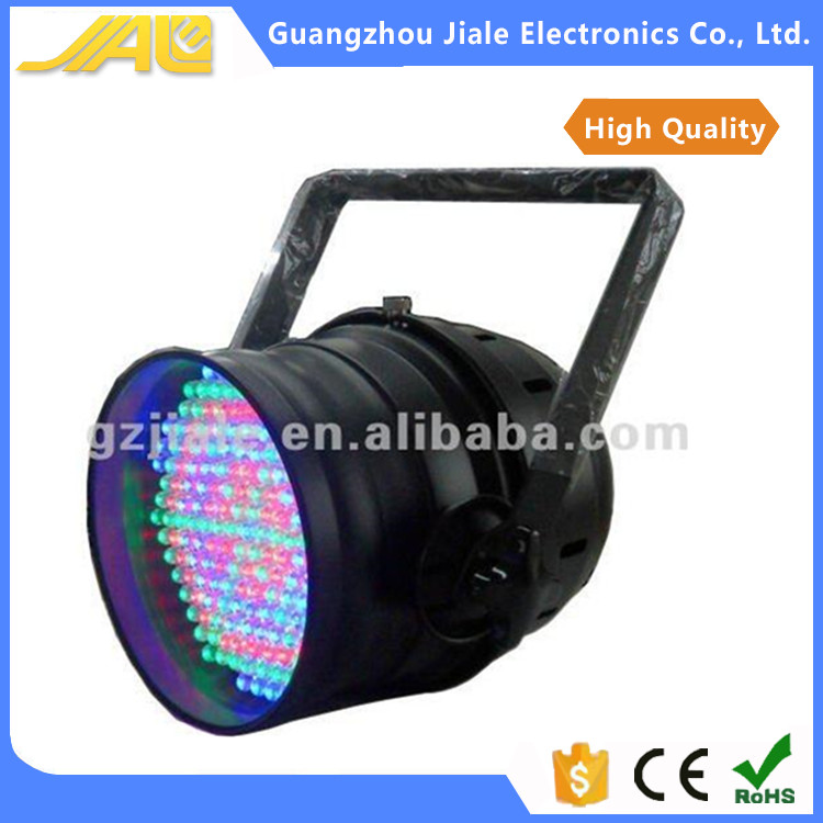 183pcs led par64 10mm RGB stage lights lower power led par light