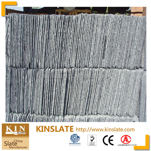 Black Slate roof tile, natural slate roofing tile, Flat Roof stone tile with best quality