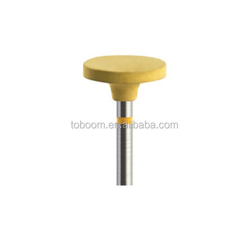 RD2325 Rubber diamond polisher HP shank ( dental polisher and tooth polisher) Special for zirconia/porcelain workpiece