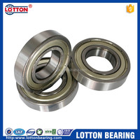609ZZ High precision stainless steel deep groove ball bearing for engineering machine