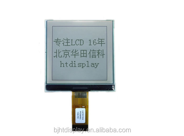 FSTN Transflective water meter LCD Display