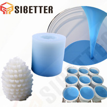 RTV-2 Silicone Rubber for Making Candle Molds