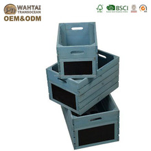 Made in china hot sale wholesale customized best price natural vegetable wooden box/crate /wood fruit and vegetable crate