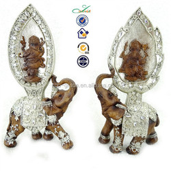 2015 resin Ganesha lord of success Indian religious statue