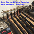 Gasoline Station Installation PE plastic pipe 63mm 110mm 75mm