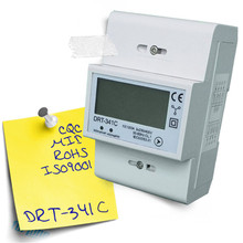 Forlong DRT-341C Modbus Three Phase digital only display Electronic Type Watt-Hour <strong>Meter</strong> wireless kwh <strong>meter</strong>