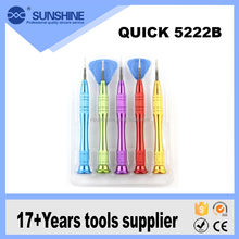 High quality QK 5222B alloy screwdriver mobile phone repair tool kit for iphone