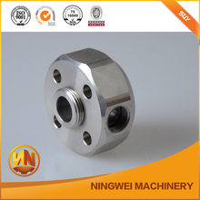 oem high demand cnc machining parts for hydraulic system, stainless steel machinied sealing parts