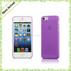 High quality no parting line ultra-thin PP phone cases for iphone 5s