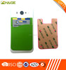 Silicone Adhesive Smart Phone Wallet, Card Holder Stick on Phone