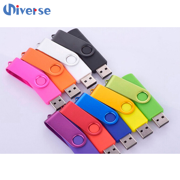 High Speed Metal Swivel USB 2.0 3.0 Flash Drive Pen Memory Stick U Disk For Data Storage