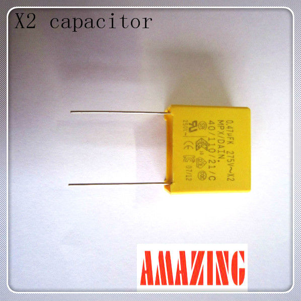 Metallized Polypropylene Film X2 Capacitor 0.82uf 275vac