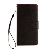 Newest For iPhone 7 Litchi Texture Horizontal Flip Leather Case with Photo Frame & Card Slots & Wallet & Holder & Lanyard