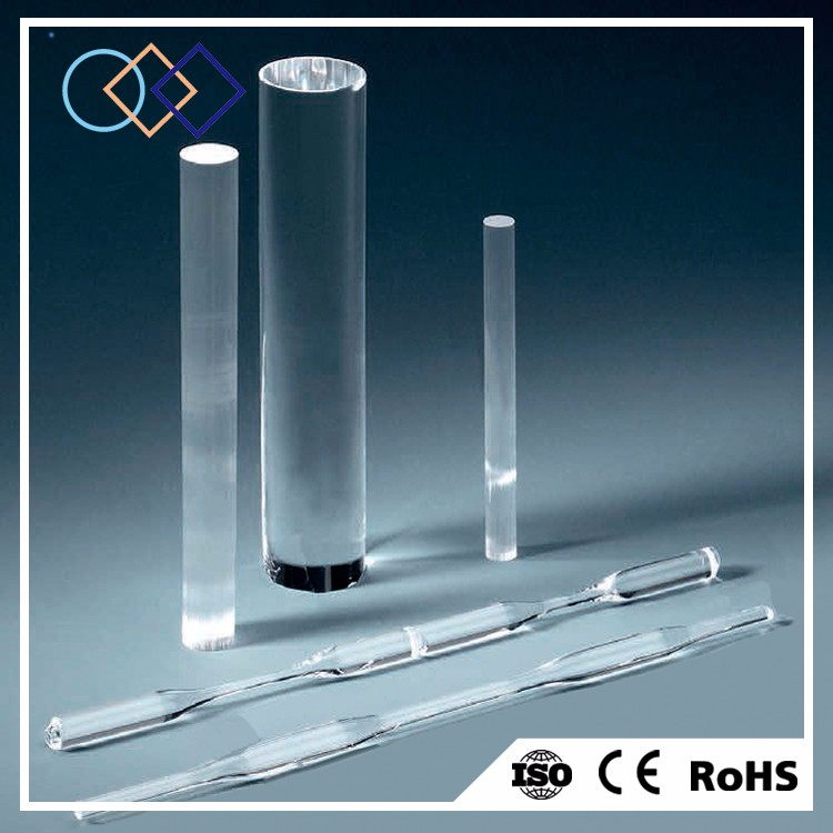 All kinds of customized UV fused silica rod lenses