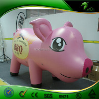 Garden Animal Inflatable Pig Cartoon / Animated animal mating cartoon
