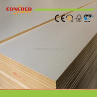 All Kinds of White Laminated Board Standard Size MDF Board Price From China Manufacturer Eoncred Group