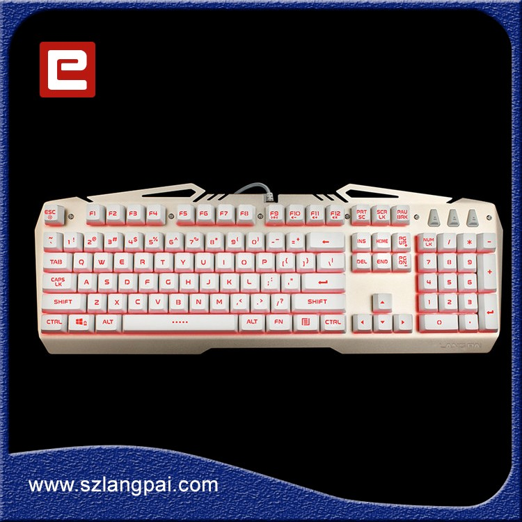 Multifunctional Silicon Standard USB Arabic Computer LED Wired Compact Membrane Keyboard
