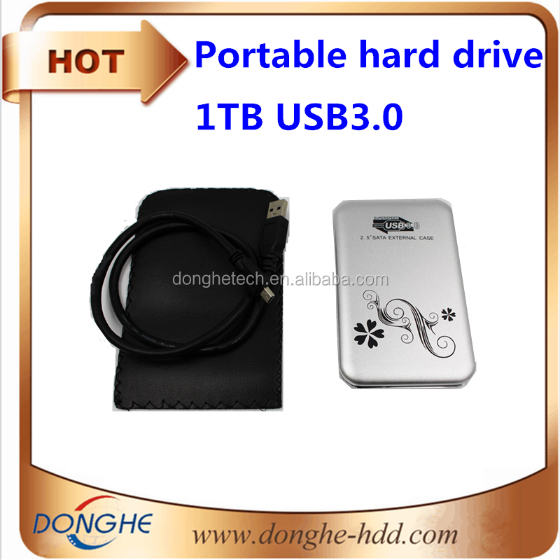 portable external hard drive for files storage usb3.0 mobile HDD 1TB with password function