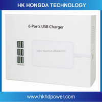 Hot sale 5V 6A multi use mobile phone charger, multi cell phone charger for charging mobile phones