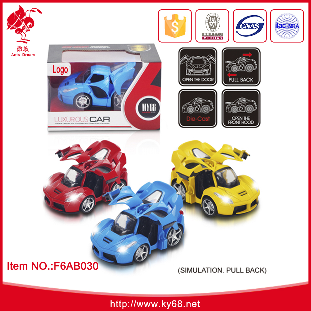 Wholesale Competitive Price Cute Design Pull Back Die Cast Car <strong>Model</strong> Toy