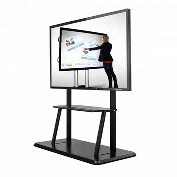 75 inch digital screen smart projector teaching interactive whiteboard IR touch