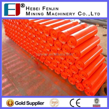 Mining Belt Conveyor Labyrinth Seal Trough Idler Roller With Different Color
