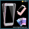 360 Degree Ultra Thin Full Cover Crystal Transparent TPU Case for iPhone 6 S Plus