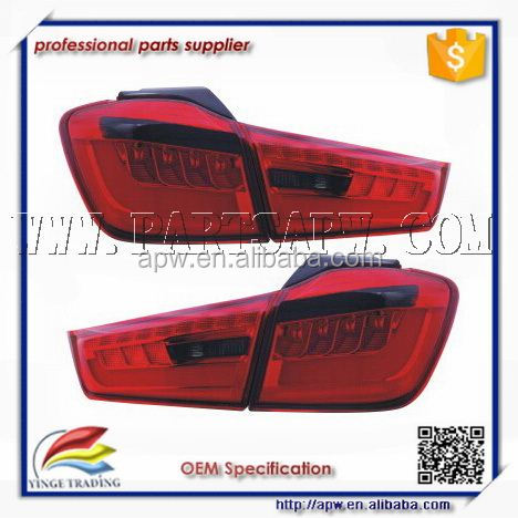LED Tail Lamp Rearlight for 2012-2014 Year OUTLANDER SPORT ASX RVR Red Black Color