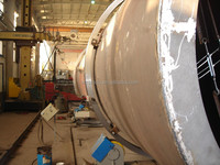 PWHT post weld heat treatment for steel pressure vessels oil and gas tank
