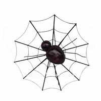 Metal halloween spider web Decoration