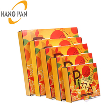 Get Free Sample Fashion pizza box logo kraft paper custom alibaba supplier packing pizza box
