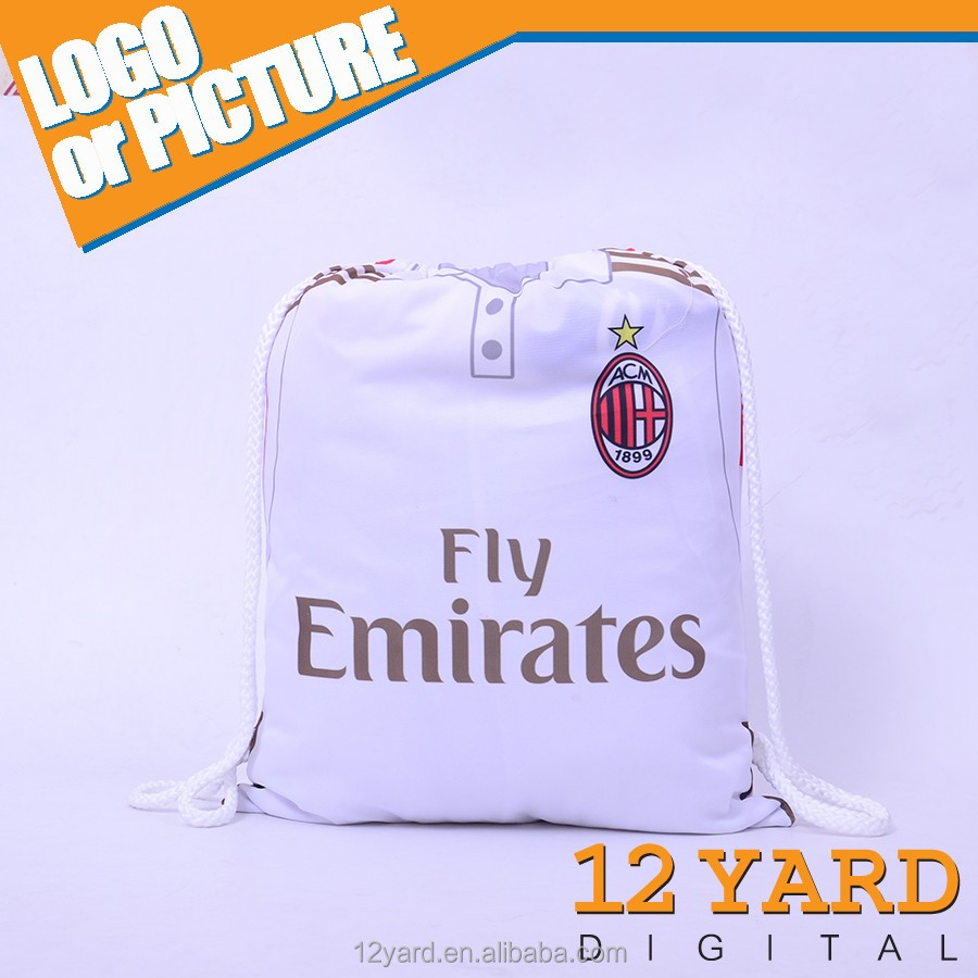 Serie Milan Ac Logo Outdoor Backpack sport Bag t-shirs sport sling drawstring backpack