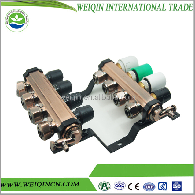 Rational construction 3 valve manifold water manifold for HAVC system 5 way valve manifold hot sale in Alibaba superior quality