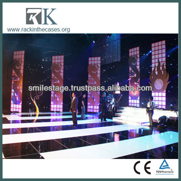 Stage wholesale clothing for men dance stage design led small stage curtain