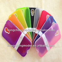 Soft TPU Matte With Stand Mobil Phone Cover for SAMSUNG Galaxy S4