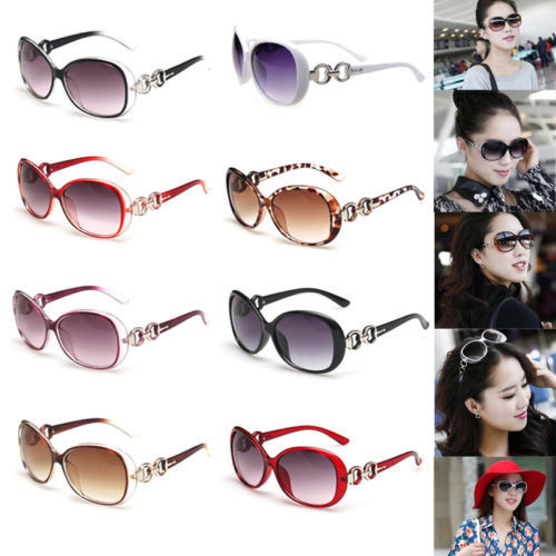 HOT Retro Vintage Women Shades Oversized Eyewear Classic Designer Sunglasses